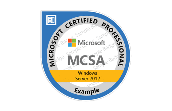 Microsoft Certified Solutions Associate Windows Server 2012