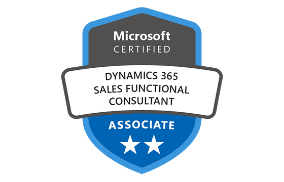 Microsoft Certified: Dynamics 365 Sales Functional Consultant Associate