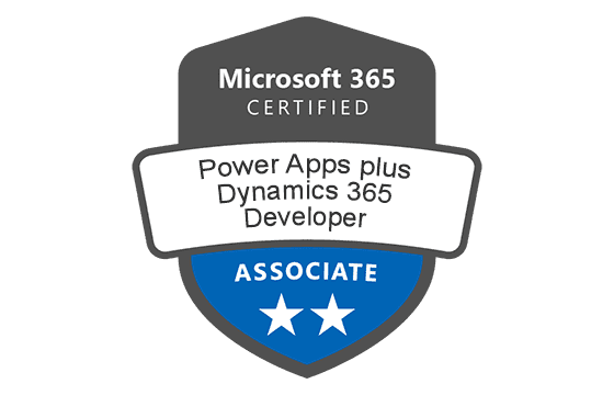 Microsoft Certified: Power Apps + Dynamics 365 Developer Associate
