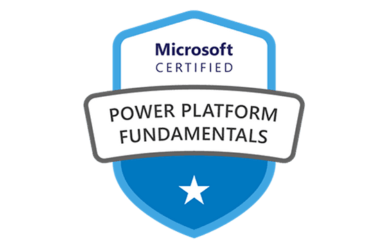 Microsoft Certified Power Platform Fundamentals