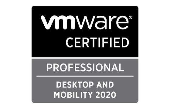 VMware Certified Professional - Desktop and Mobility 2020